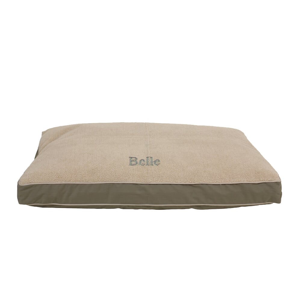 Cashmere Berber Top Four Season Jamison Pet Dog Bed (Personalize)