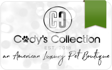 $100 E-Gift Card to Cody's Collection Luxury Pet Boutique