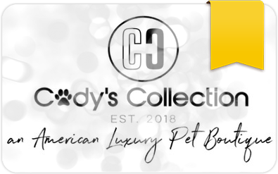 $50 E-Gift Card to Cody's Collection Luxury Pet Boutique