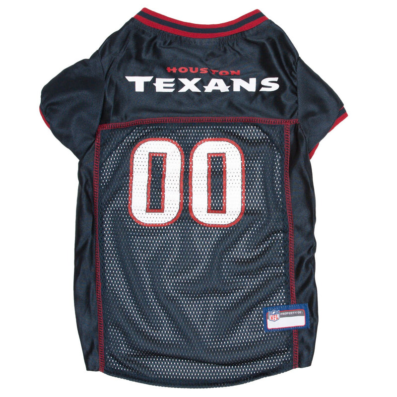 Official Licensed Pet Sports Jersey Apparel - Houston Texans Football NFL Dog Jersey