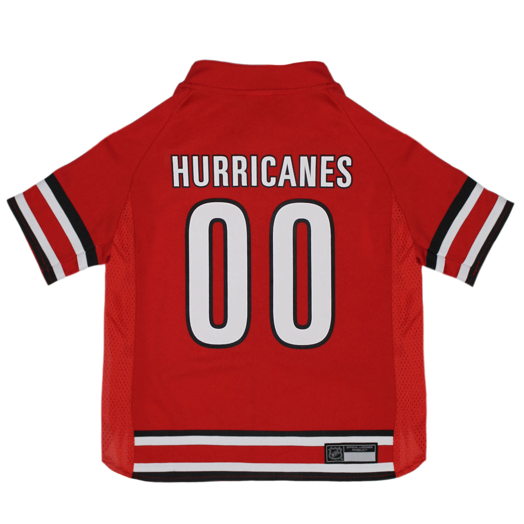 Official Licensed Pet Sports Jersey Apparel - Carolina Hurricanes Hockey NHL Dog Jersey