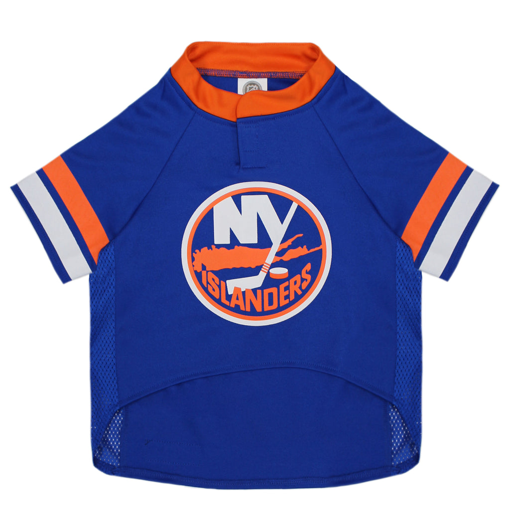 Official Licensed Pet Sports Jersey Apparel - New York Islanders Hockey NHL Dog Jersey