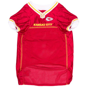 Official Licensed Pet Sports Jersey Apparel - Kansas City Chiefs Football NFL Dog Jersey
