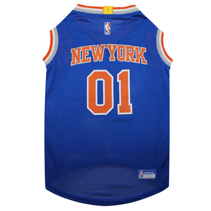 Official Licensed Pet Sports Jersey Apparel - New York Knicks Basketball NBA Dog Jersey