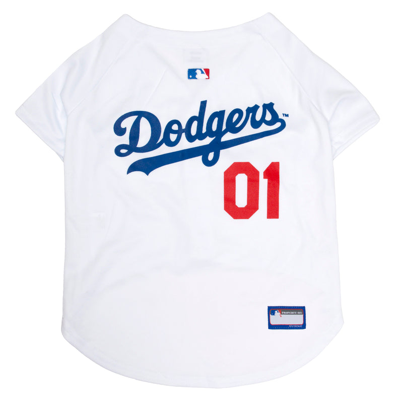 Official Licensed Pet Sports Jersey Apparel - Los Angeles Dodgers Baseball MLB Dog Jersey