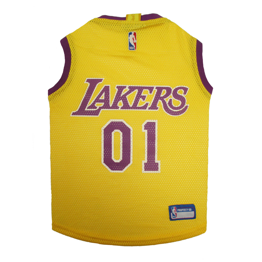 Official Licensed Pet Sports Jersey Apparel - Los Angeles Lakers Basketball NBA Dog Jersey
