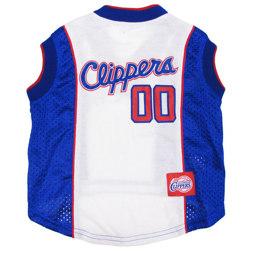 Official Licensed Pet Sports Jersey Apparel - Los Angeles Clippers Basketball NBA Dog Jersey