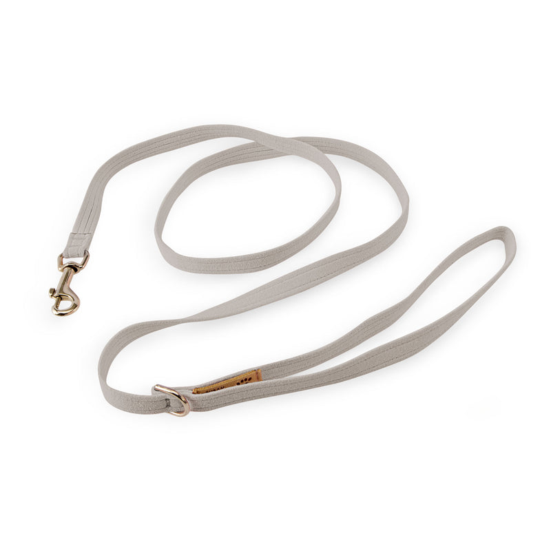 Platinum Solid UltraSuede Designer Dog Leash