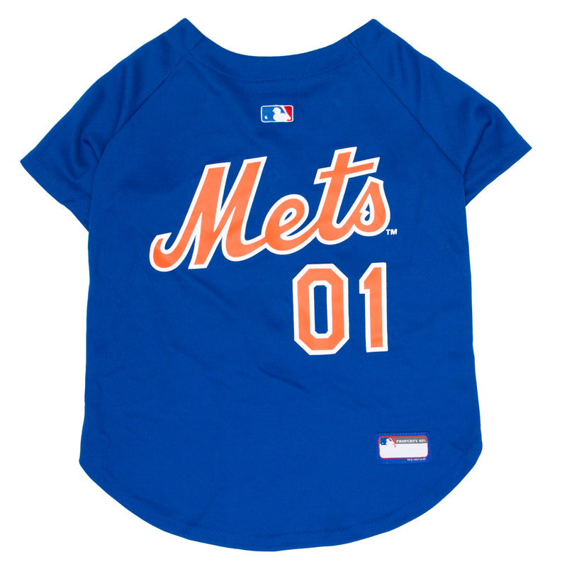 Official Licensed Pet Sports Jersey Apparel - New York Mets Baseball MLB Dog Jersey