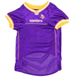 Official Licensed Pet Sports Jersey Apparel - Minnesota Vikings Football NFL Dog Jersey