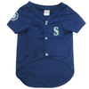 Official Licensed Pet Sports Jersey Apparel - Seattle Mariners Baseball MLB Dog Jersey