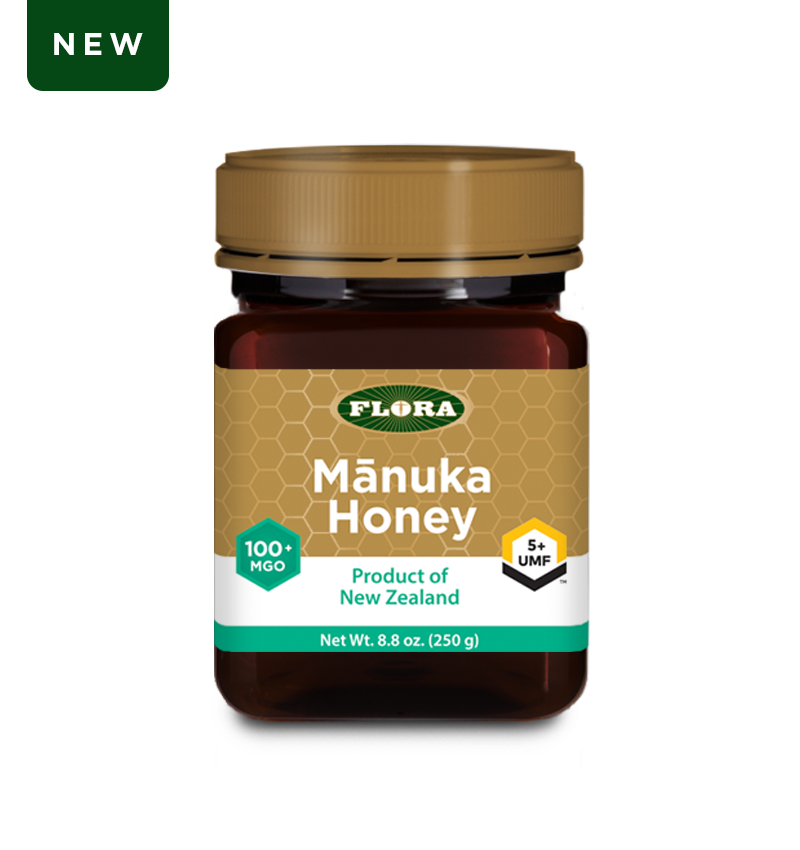 Flora Health Manuka Honey Blend Non-GMO Eco-Friendly Sustainable Unpasteurized 100% Maori-Owned Honey MGO 100+ / UMF 5+