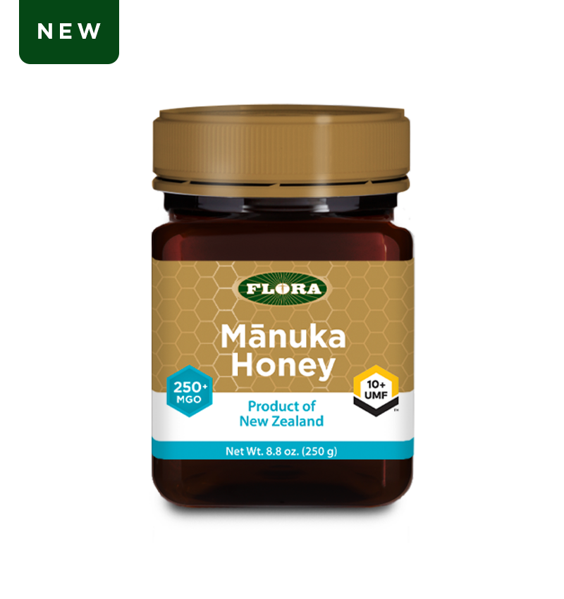 Flora Health Manuka Honey Blend Non-GMO Eco-Friendly Sustainable Unpasteurized 100% Maori-Owned Honey MGO 250+ / UMF 10+