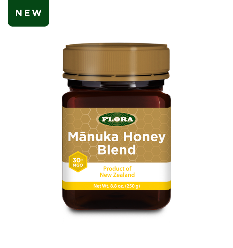 Flora Health Manuka Honey Blend Non-GMO Eco-Friendly Sustainable Unpasteurized 100% Maori-Owned Honey MGO 30+