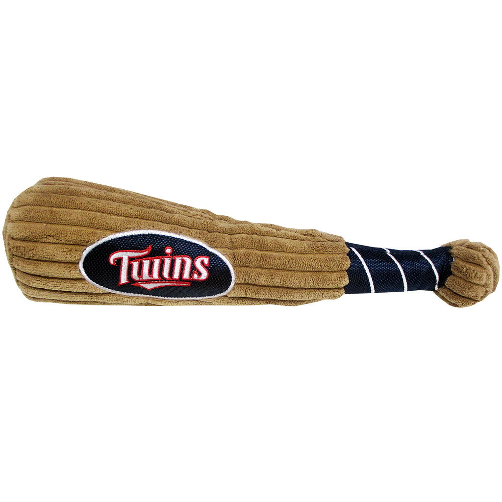 Minnesota Twins Plush Baseball Bat Dog Toy