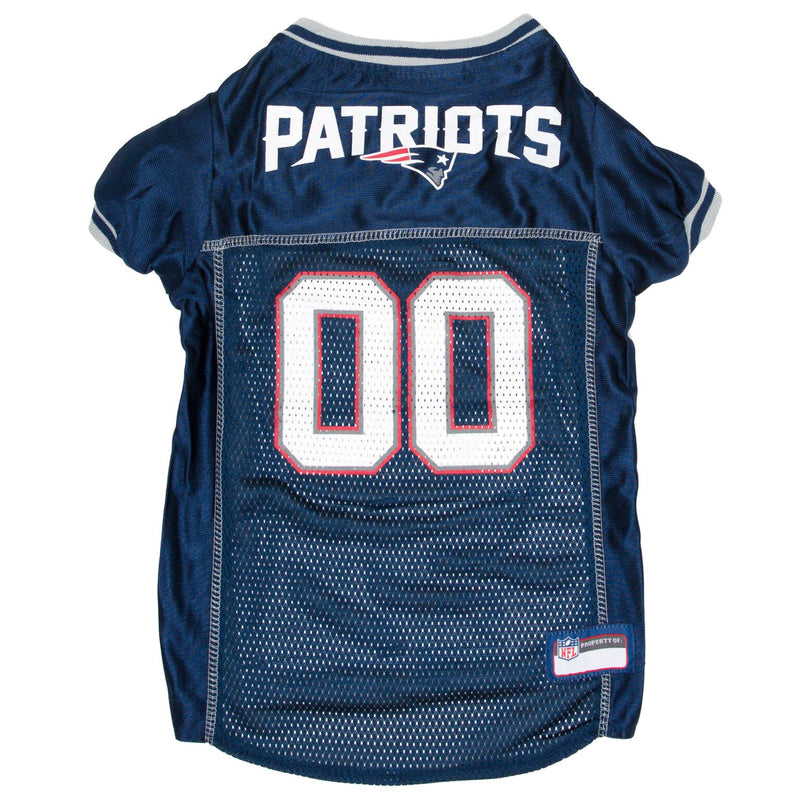 Official Licensed Pet Sports Jersey Apparel - New England Patriots Football NFL Dog Jersey
