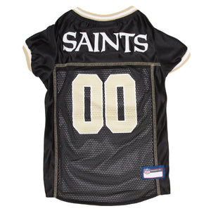 Official Licensed Pet Sports Jersey Apparel - New Orleans Saints Football NFL Dog Jersey