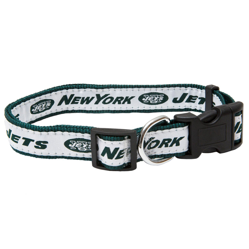 New York Jets NFL Sports Nylon Ribbon Dog Collar