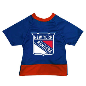 Official Licensed Pet Sports Jersey Apparel - New York Rangers Hockey NHL Dog Jersey