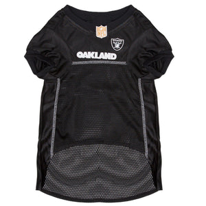 Official Licensed Pet Sports Jersey Apparel - Oakland Raiders Football NFL Dog Jersey