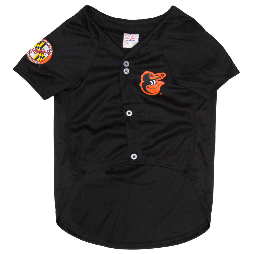 Official Licensed Pet Sports Jersey Apparel - Baltimore Orioles Baseball MLB Dog Jersey