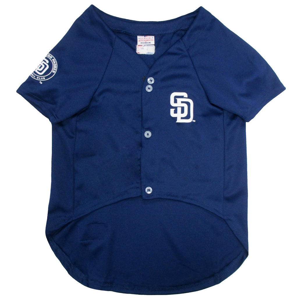Official Licensed Pet Sports Jersey Apparel - San Diego Padres Baseball MLB Dog Jersey