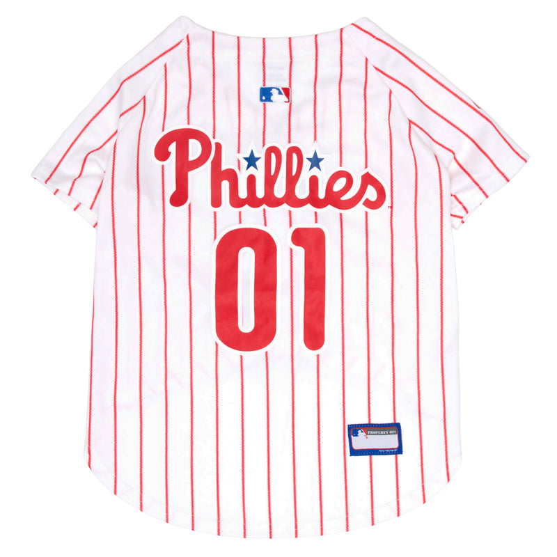Official Licensed Pet Sports Jersey Apparel - Philadelphia Phillies Baseball MLB Dog Jersey