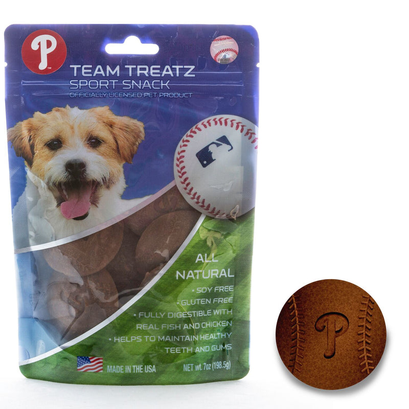 Philadelphia Phillies All Natural Soy & Gluten Free Dog Treats