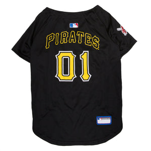 Official Licensed Pet Sports Jersey Apparel - Pittsburgh Pirates Baseball MLB Dog Jersey