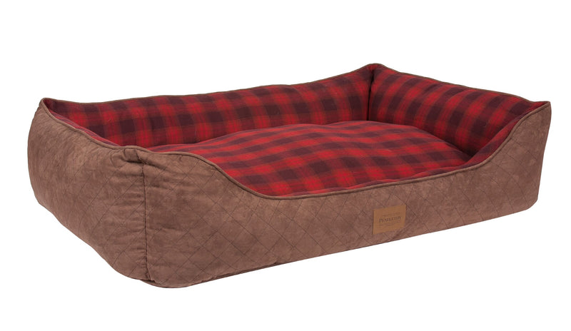 Pendleton Kuddler Red Ombre Plaid Pet Bed