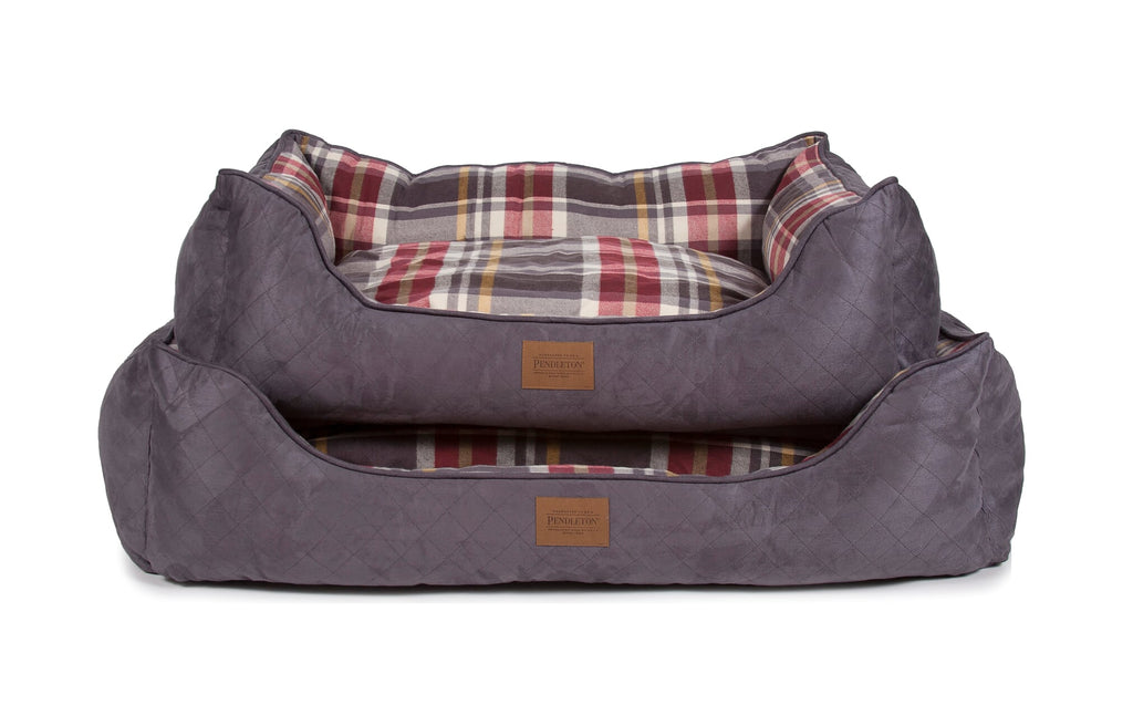 Pendleton Kuddler Breslin Plaid Pet Bed