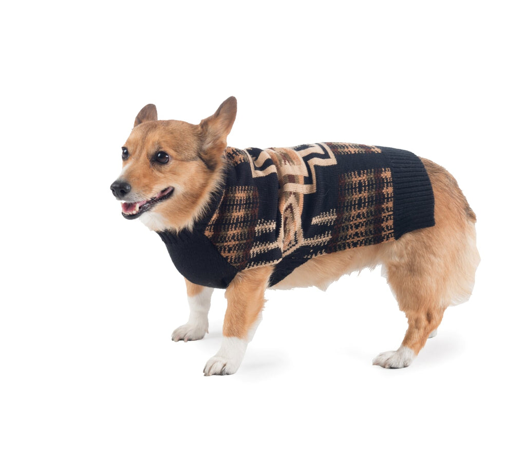 Pendleton Designer Ultra-Soft & Luxurious Timeless Harding Native Indigenous Style Warm Pet Dog Sweater