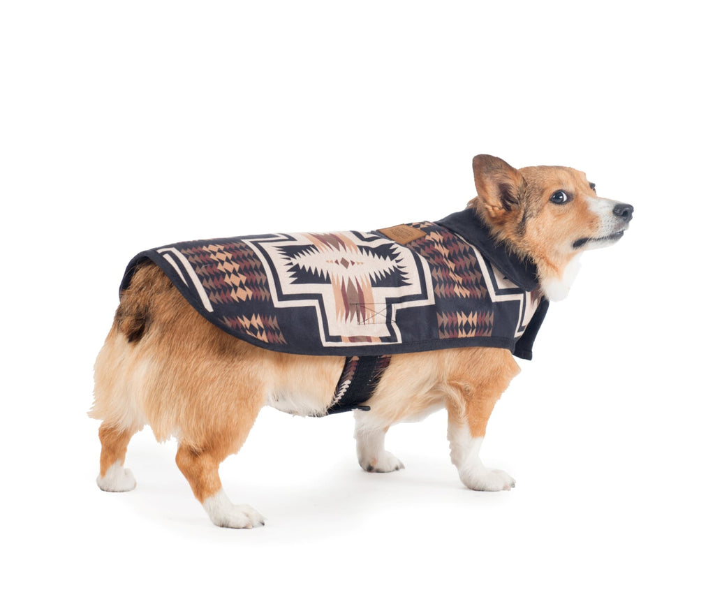 Pendleton Designer Exotic Harding Native Indigenous Luxury Warm Dog Coat