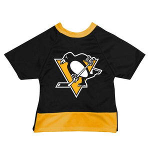 Official Licensed Pet Sports Jersey Apparel - Pittsburgh Penguins Hockey NHL Dog Jersey