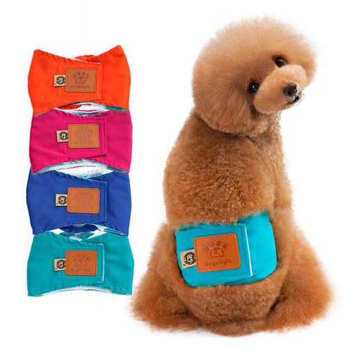 Washable Multi-Use Male Underwear Dog Diaper