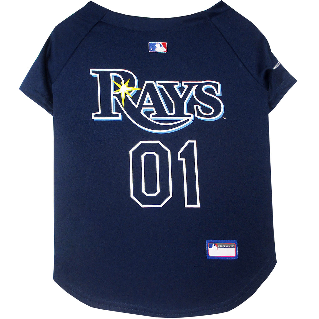Official Licensed Pet Sports Jersey Apparel - Tampa Bay Rays Baseball MLB Dog Jersey