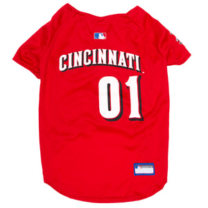 Official Licensed Pet Sports Jersey Apparel - Cincinnati Reds Baseball MLB Dog Jersey