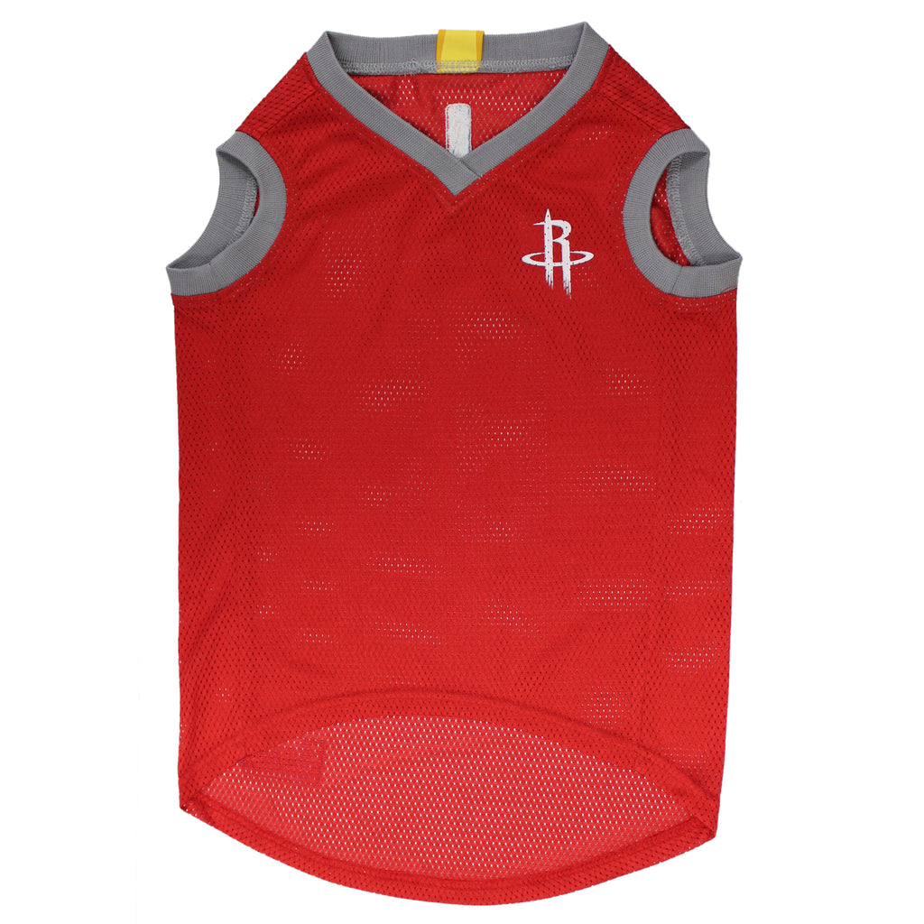 Official Licensed Pet Sports Jersey Apparel - Houston Rockets Basketball NBA Dog Jersey
