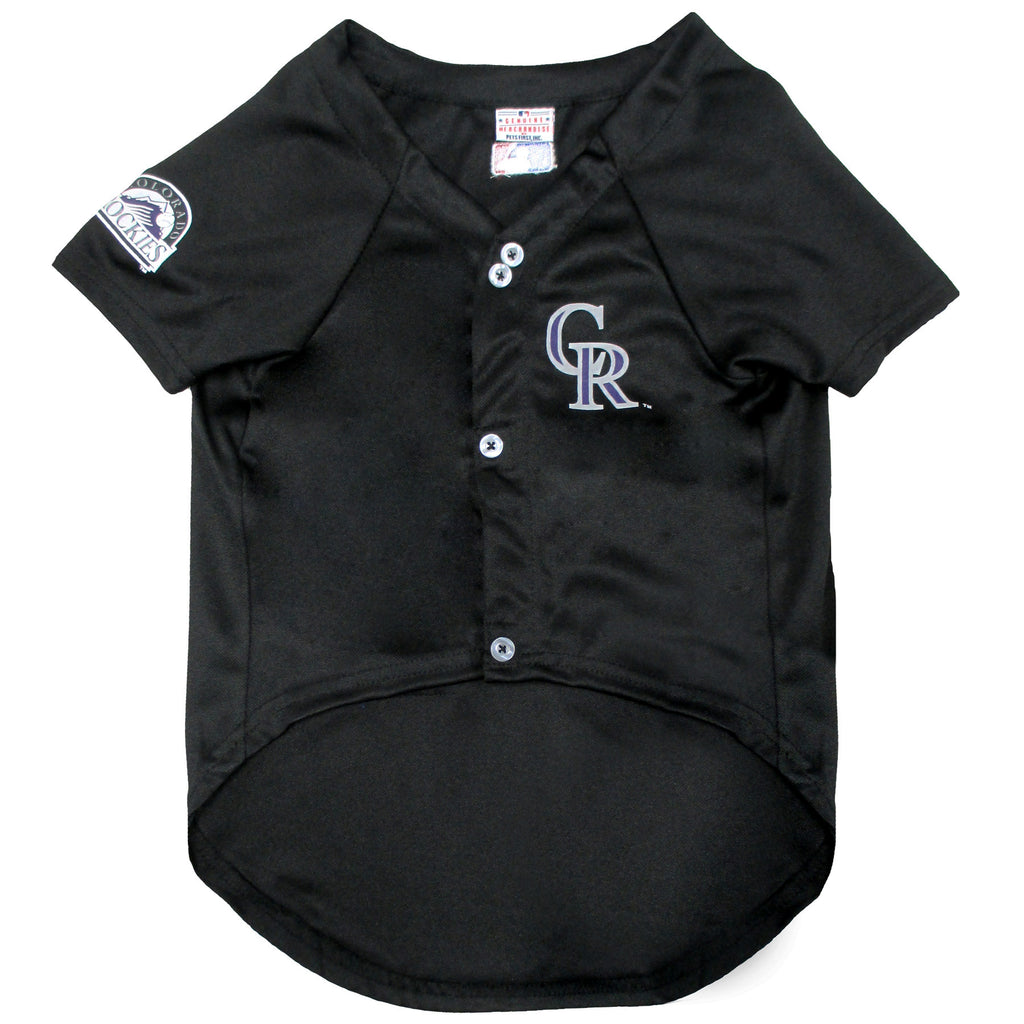 Official Licensed Pet Sports Jersey Apparel - Colorado Rockies Baseball MLB Dog Jersey
