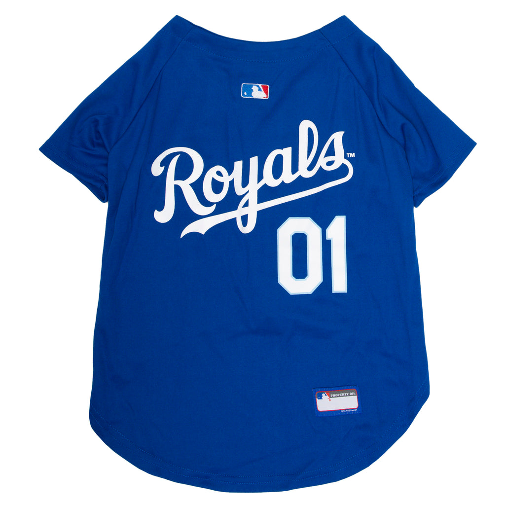Official Licensed Pet Sports Jersey Apparel - Kansas City Royals Baseball MLB Dog Jersey