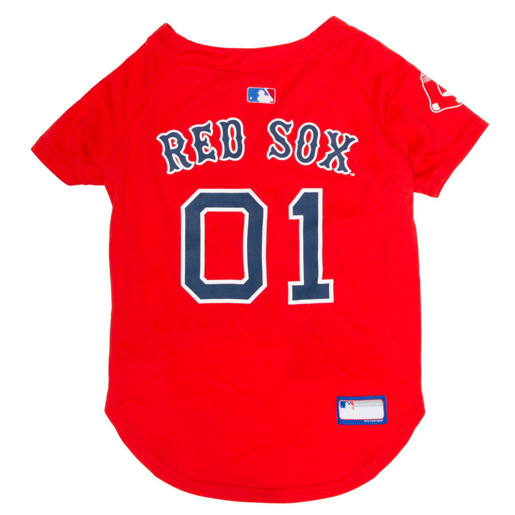Official Licensed Pet Sports Jersey Apparel - Boston Red Sox Baseball MLB Dog Jersey