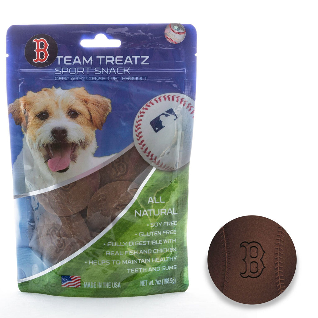 Boston Red Sox All Natural Soy & Gluten Free Dog Treats