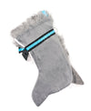 Husky Puppy Handmade Designer Holiday Christmas Dog Stocking