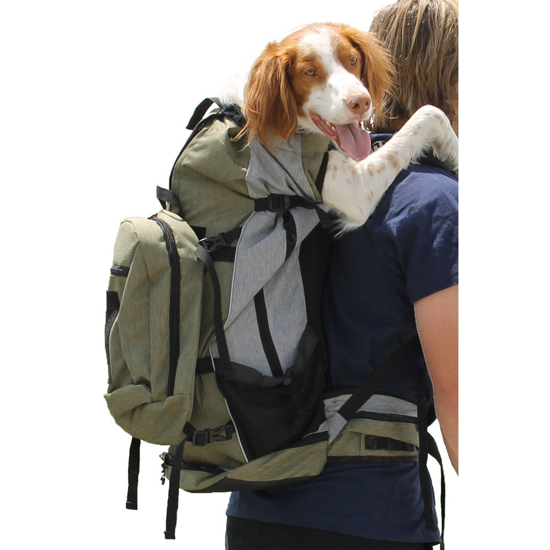 K9 Sport Sack Designer Rover Outdoor Active Travel Dog Backpack Carrier (For Large Pets 30 to 80 lbs)