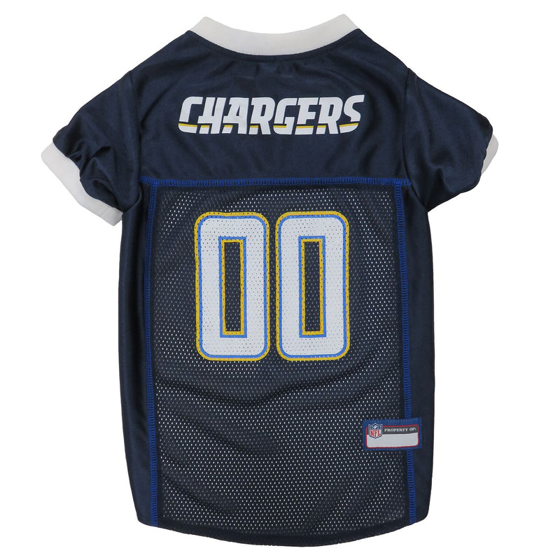 Official Licensed Pet Sports Jersey Apparel - Los Angeles Chargers Football NFL Dog Jersey