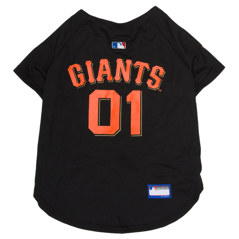 Official Licensed Pet Sports Jersey Apparel - San Francisco Giants Baseball MLB Dog Jersey