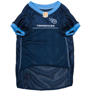 Official Licensed Pet Sports Jersey Apparel - Tennessee Titans Football NFL Dog Jersey