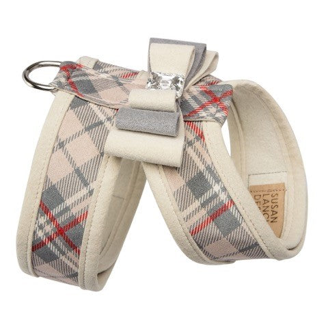 Scotty Tinkie Doe Plaid UltraSuede Designer Dog Harness