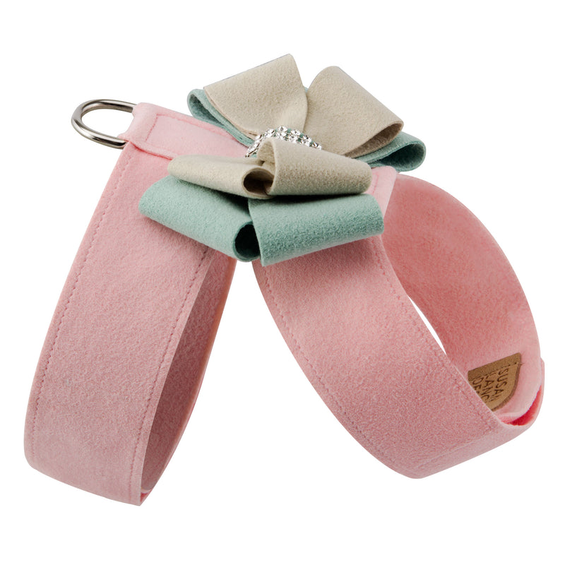 Hope Bow Tinkie UltraSuede Dog Harness