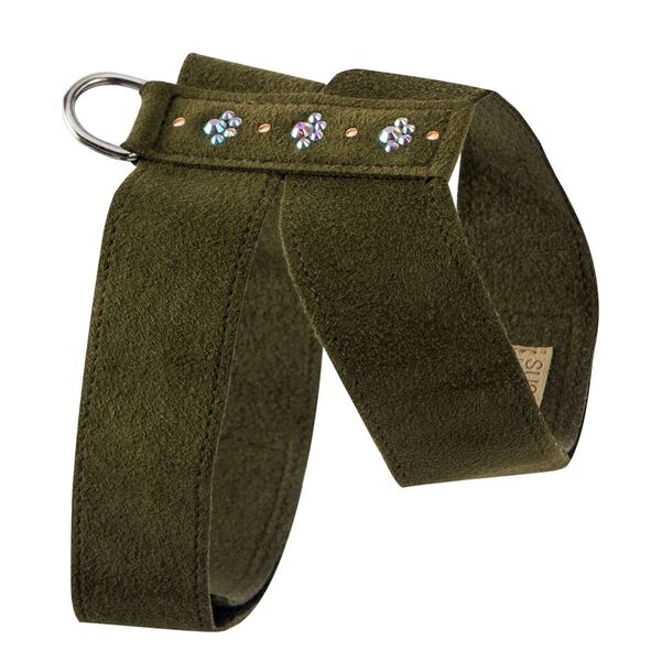 Crystal Paws Tinkie UltraSuede Dog Harness